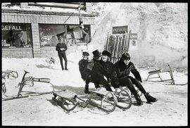Beatles v rakouském středisku Obertauern