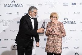 Masaryk ovládl s 12 cenami České lvy. Sošku má i Bartoška. Podívejte se na kompletní výsledky