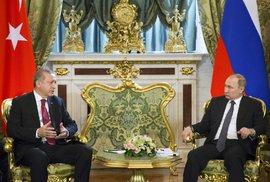 Putin měl tento týden napilno: Schůzka s Erdoganem v Moskvě