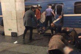 V petrohradském metru explodovala nálož. Výbuch si vyžádal nejméně 10 mrtvých