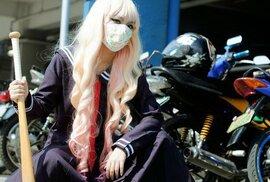 Drsné motorkářky Bosozoku: Japonské rebelky bez příčiny ničí, na co přijdou