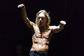 Iggy Pop na festivalu Colour of Ostrava 2010