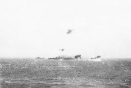 V bitvě v Korálovém moři se lodě nedostaly navzájem na dohled.