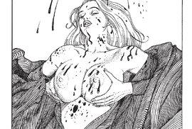 Ukázka z komiksu Andělské drápky.