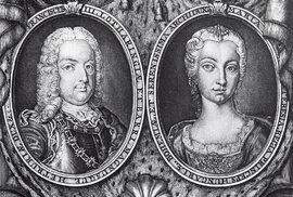 František I. Štěpán Lotrinský a Marie Terezie, de iure císař Svaté říše římské
