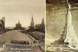 Stalinův sen: Podívejte se, jak měla Moskva vypadat podle diktátorových…
