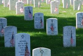 V takřka posvátné půdě, jen několik kilometrů od Bílého domu, je pohřbeno více než 400 tisíc padlých vojáků