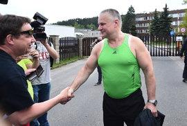 Jiří Kajínek byl propuštěn z vězení