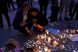 Manchester smutní za oběti teroru