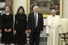 Papež František přijal Trumpa