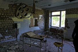 Nemocnice v Pripjati.