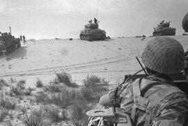 Před 50 lety Izrael drtivě zvítězil nad přesilou v šestidenní válce