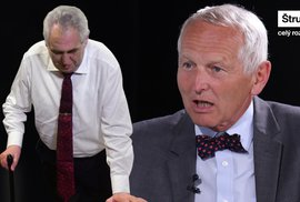 Kardiochirurg Pirk: Zeman na práci prezidenta nemá. Patří do invalidního důchodu