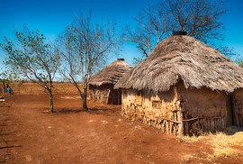 Vzorně uklizená vesnice