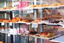 Zákusky jsou oblíbenou snídaní Madriďanů.