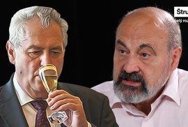Tomáš Halík: Za Zemana se modlím, ale jeho pokračování ve funkci je morbidní představa