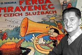 Autor Ferdy Mravence zakládal české ragby a za okupace byl vězněn. Ondřej Sekora se narodil před 120 lety