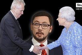 Ovčáček je idiot, měli by ho žalovat, Zeman dal britské královně cetku, říká exporadce prezidenta