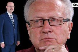 Senátor Veleba: Je premiér svině? Zeman má pravdu, Sobotka je křivák a pokrytec