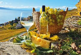 Víno ze země tří sluncí. Ochutnejte švýcarská vína z oblasti Lavaux