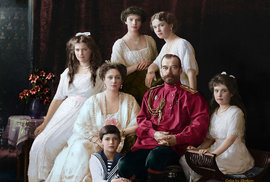 Rodina cara Mikuláše II., rok 1914.