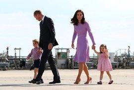 Britská královská rodina se opět rozroste: Princ William a vévodkyně Kate čekají…