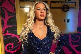 """""""Vybělená"""" Beyoncé v muzeu voskových figurín Madame Tussauds."""