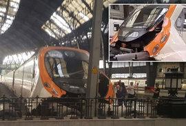 Nehoda vlaku v Barceloně