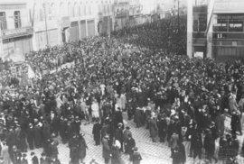 Vznik Československa roku 1918.