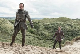 Severoirská pláž Portstewart Strand je místem, kde Jamie Lannister bojoval s dornskými vojáky.