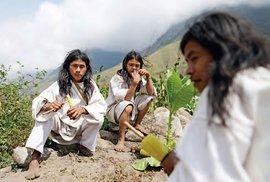 Jihoamerická verze hippies. To jsou kolumbijští indiáni kmene Kogi