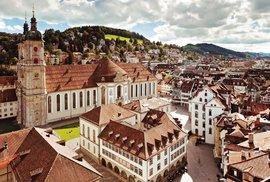 St. Gallen - město sýrů a výšivek