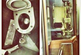 Záchod na jedné straně vagónu a samovar na druhé jsou těmi nejnavštěvovanějšími místy