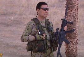 Vládce Turkmenistánu se předvedl v roli Terminátora