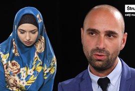 Muslimové v Česku se bojí. Kamarádku zkopali, nikdo jí nepomohl, říká šéf HateFree Culture