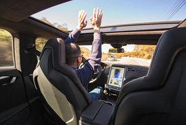 Autonomní automobil nepotřebuje řidiče