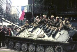 Vzpomínky na srpen 68: Ráno bylo na poli za domem pár tanků a vojáčků, kteří…