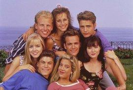 Jak se změnili herci ze seriálu Beverly Hills 90210