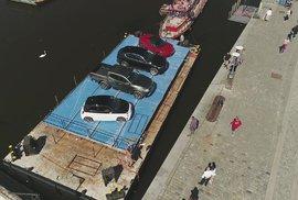 Pražská Náplavka z pohledu dronu. Podívejte se na unikátní záběry