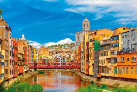 Starobylá Girona – právě zde se natáčely Hry otrůny.