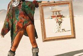 Burning Man, festival pořádaný v lokalitě Black Rock Desert (Nevada, USA) od roku 1986, je považován za jednu z nejšílenějších akcí na světě.