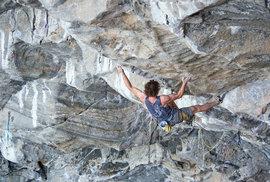 Adam Ondra stanovil novou kategorii obtížnosti ve sportovním lezení na 9c