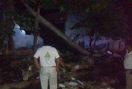 Mexickou oblast Chiapas zasáhlo zemětřesení i letos v červnu