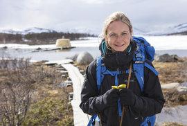 Dobrodružka Simona Hrstková ve Švédsku: Denně 100 km na kole? Pádlování na širém moři? To dám!