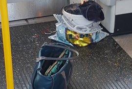 Exploze v londýnském metru