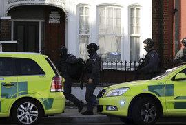 Výbuch v londýnské stanici metra Parsons Green.