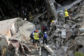 Mexiko zasáhlo 19. září 2017 zničující zemětřesení