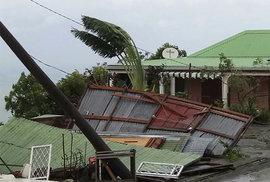 Hurikán Maria zasáhl ostrov Guadeloupe