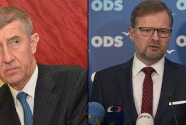 Zůstane stávající koalice? Většinu 107 poslanců by měla i koalice ANO s ODS