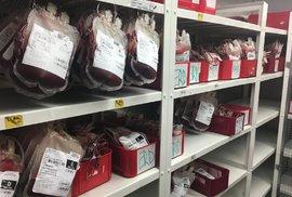 Česku chybí 100 tisíc dárců krve, jejich počet klesá. V létě je situace kvůli…
